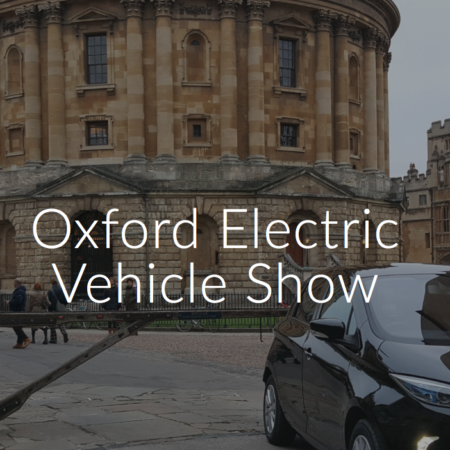 Come and see us at the Oxford EV Show