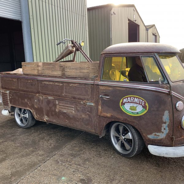 Electrogenic Marmite bus the electric VW Campervan pick up