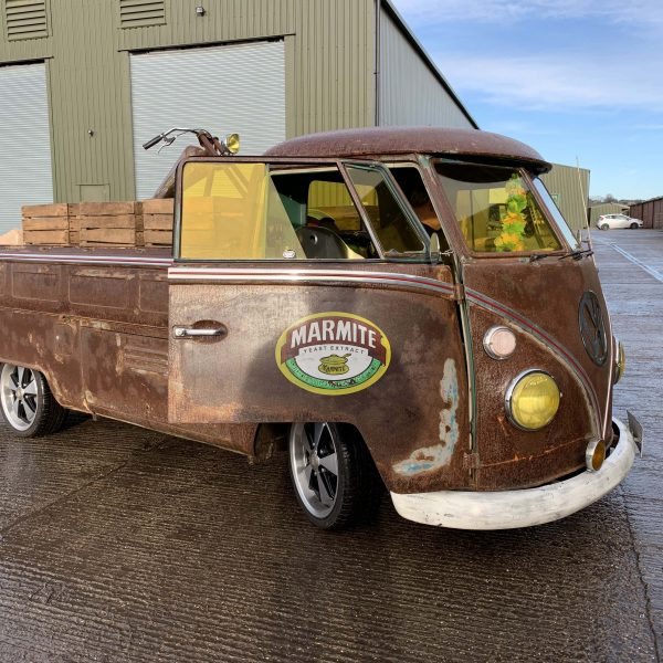 Electrogenic electric VW Campervan pick up truck