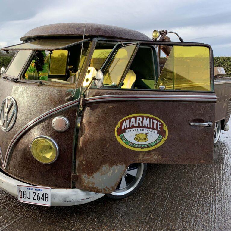 The Marmite Bus