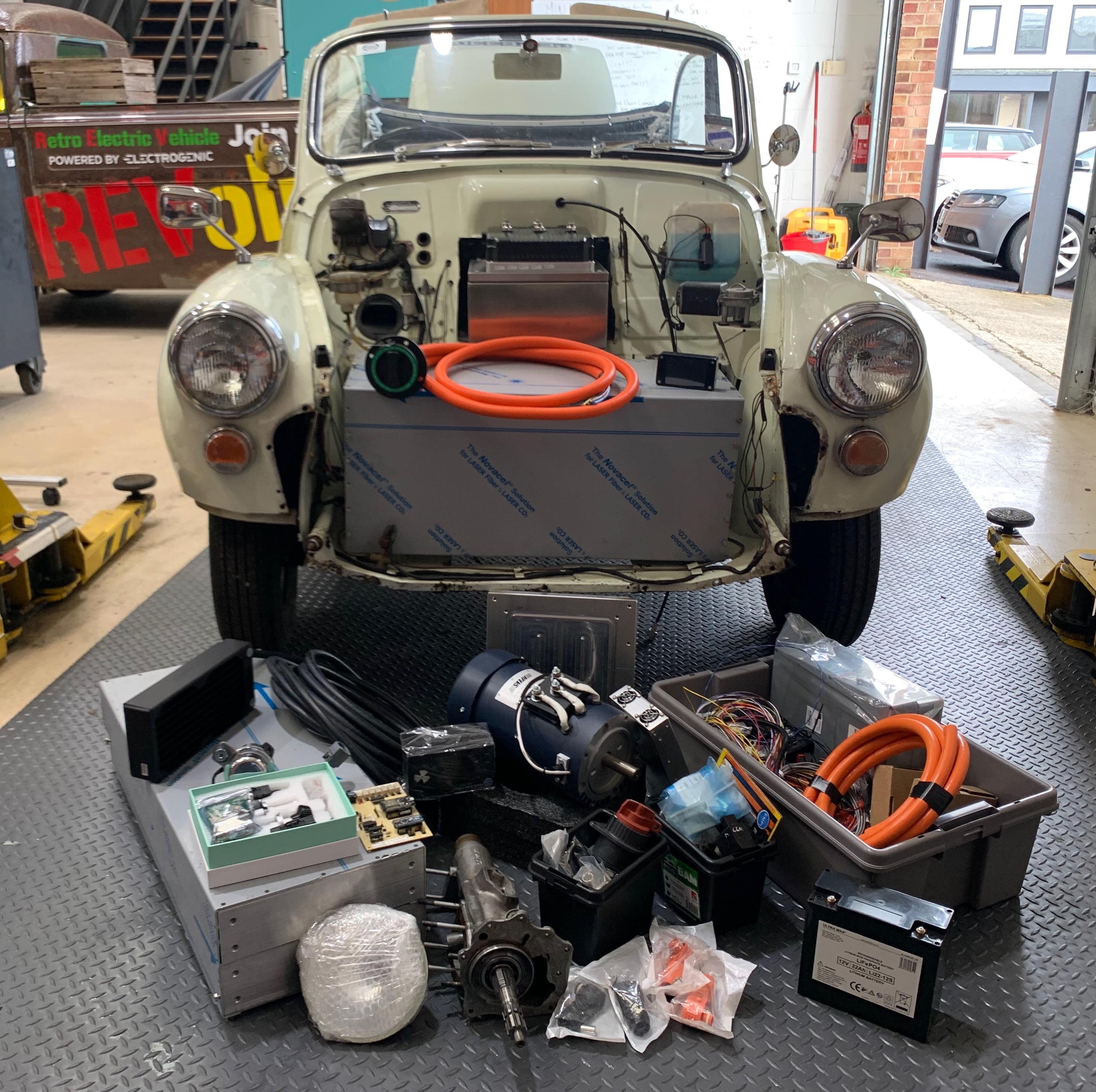 Morris Minor electric conversion