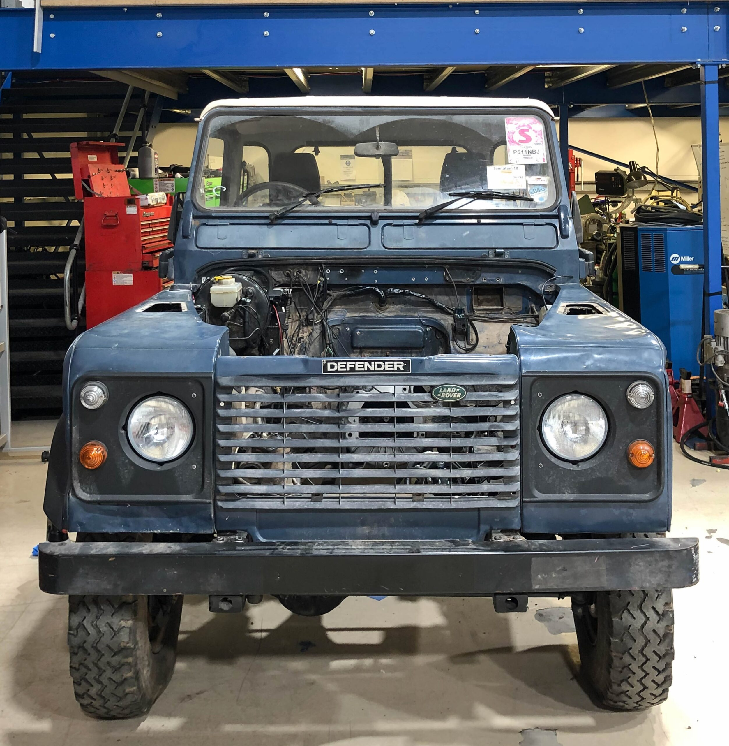 Electric Land Rover being built for Glastonbury Festivals